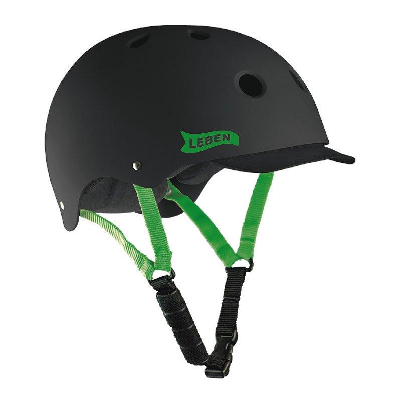 casco-leben-negro-verde